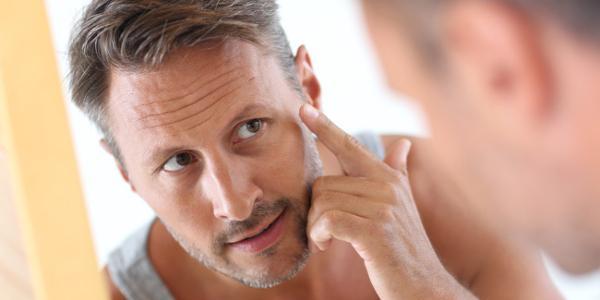 Высокий тестостерон у мужчин стимулирует обновление кожи