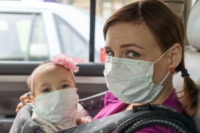 Коронавирус статистика - применяйте защитные маски!