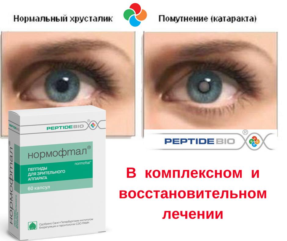 пептиды для сетчатки глаза