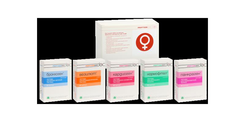 Пептидные препараты для омоложения